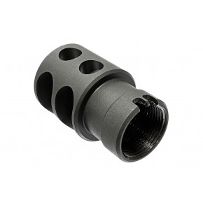 TWI D FH-01 Zentico Styled DTK-2 Flash Hider - CNC'd Steel for the AK74MN and AK104/5