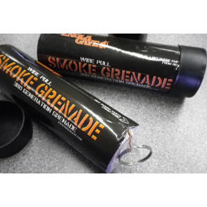 Enola Gaye WP40 Ring-Pull Coloured Smoke Grenade - Orange