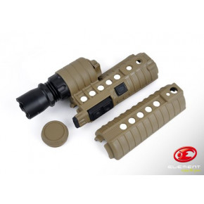Element M500A Illuminated front end for M4 rifles - Tan