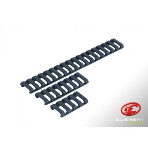 31-Rib Ladder 20mm Rail Covers - Dark Earth