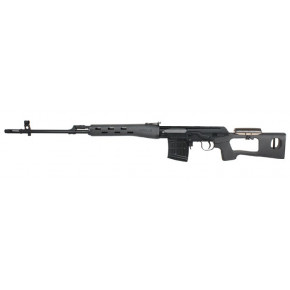 ASG Branded A&K Dragunov SVD Airsoft Sniper Rifle (spring) with Hi-Cap mag - Izhmash Licensed