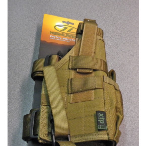 Pro Force Drop Leg / MOLLE holster - Tan