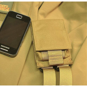 SAG Gear GSM SLK Pouch - Coyote Brown