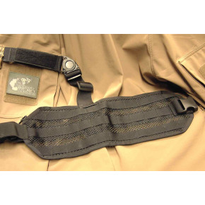 SAG GEAR MOLLE leg panel - Black - Left Hand