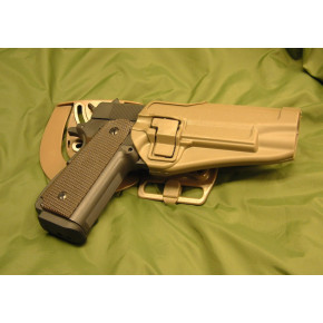 CQC Nylon Fibre Holster- Matt Finish Colt 1911 - Coyote Brown
