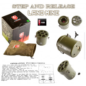 S-Thunder Step & Release Gas mine - Green