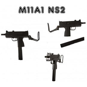 ASG Branded and COBRAY Licenced KWA/KSC M11A1 / MAC-11 / M11 / MAC11 NS2 Airsoft SMG