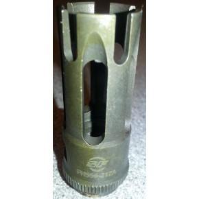 Surefire style steel flash hider 14mm CCW