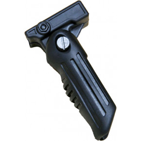 Vertical RIS Folding Grip - Black