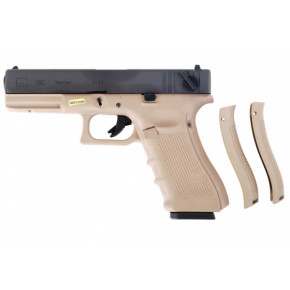 WE Glck G18C Gen.4 Tan Frame