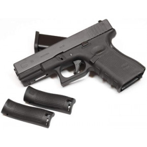 WE Glck G19 Gen.4 Tactical GBB Airsoft Pistol Black Frame