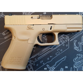 WE Glck G19 Gen.5 Tactical GBB Airsoft Pistol - Tan