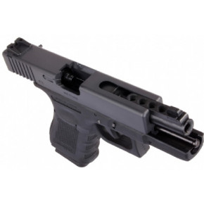 WE Glck G23 Gen.4 Tactical GBB Airsoft Pistol -Black