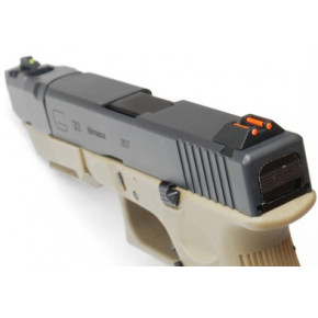 WE Glck G33 Advance Airsoft Pistol - Tan