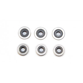 Lonex 8mm Double Grooved Bearings (6 pieces)