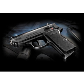 Tokyo Marui RF Police SS 'Semi-Auto' Spring Airsoft Pistol - Walther PPK