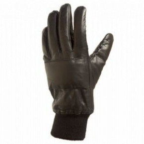 Black Leather N.I. Gloves