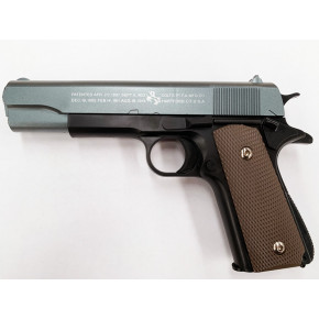 Two-Tone 1911A1 .45 Spring Pistol - Full Trades!