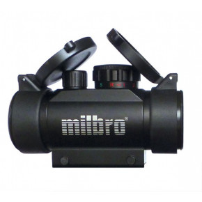 MILBRO 1x30 Red / Green Dot Sight - Blue Coated Objective Lens