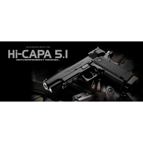 Tokyo Marui Hi Capa 5.1 Government Model Pistol