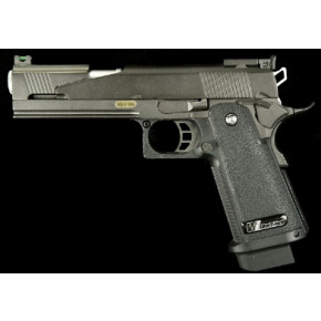 WE Hi Capa 5.1 Black Dragon A-Type GBB Airsoft Pistol.