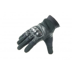Highlander Carbon Kevlar type Combat Glove - Black