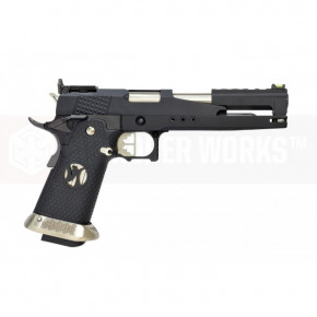 Armorer Works Custom Hi-Capa Dragon HX2202 'Race Pistol' - Black Slide