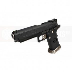 Armorer Works Custom Hi-Capa HX2302 Airsoft Pistol - Black Slide with Black Frame