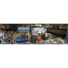 ICS M4A1 Full Stock AEG (Clear Plastic) Airsoft Rifle