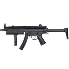 ICS MX5 MP5-A5 Navy Plastic Body Retractable Stock Airsoft SMG AEG