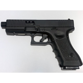 NEW! POSEIDON B&W W17 BB [Black Black] / G17 Custom CNC metal RMR slide GBB Airsoft pistol