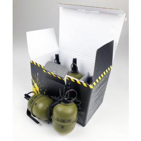 TAG Innovation TAG-19 Airsoft BB Shrapnel Grenade - Pack of 6