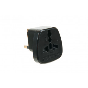 UK to EU mains plug adaptor
