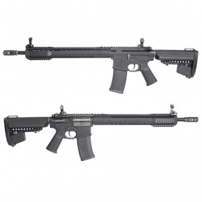 King Arms Black Rain Ordnance Rifle - Black -  Airsoft AEG