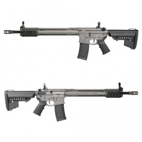 King Arms Black Rain Ordnance Rifle - Grey -  Airsoft AEG