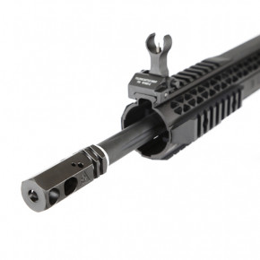 King Arms Black Rain Ordnance Carbine Rifle - Black -  Airsoft AEG