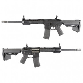 King Arms Black Rain Ordnance CQB Rifle - Black -  Airsoft AEG