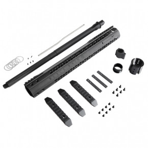"King Arms Black Rain Ordnance 15"" MOD Rail with Outer Barrel Set"