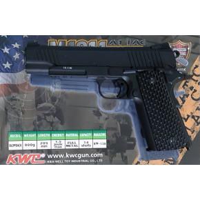 KWC 1911 A1 TAC GBB Airsoft Pistol