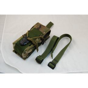 SAG Gear KDL double M4 mag pouch - Multicam
