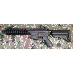 "Lonex M4 Sporty 10.5"" Airsoft Rifle - Black"