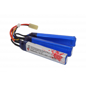 Lithium Ferrite (LiFe / LiFePO4) 1500mAh 3Leg 9.9v Battery Pack