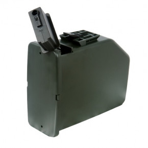 Cybergun Branded A&K M249 2400rd Auto-wind box magazine