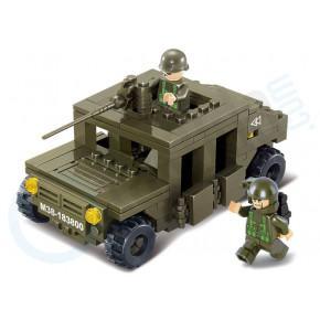 SLUBAN Hummer Squad Car M38-B0297