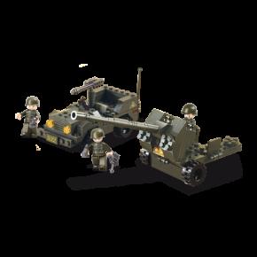 SLUBAN Anti Aircraft Gun & Jeep M38-B5900