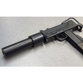 MAC 11 / M11 / MAC11 Solid Aluminium 'Suppressor' - with a twist!