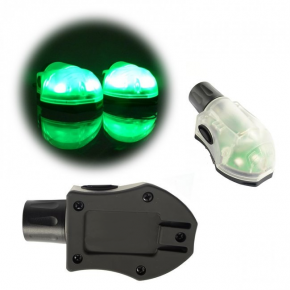 Element 'S&S' Manta Strobe - Black & Green