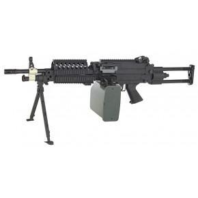 A&K FN M249 MK46 Mod.1 Airsoft Support Gun - Para Stock