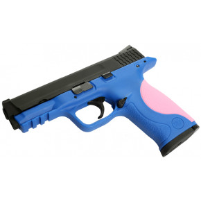 "WE Two-Tone M&P Pistol ""Big Bird"" - Blue"