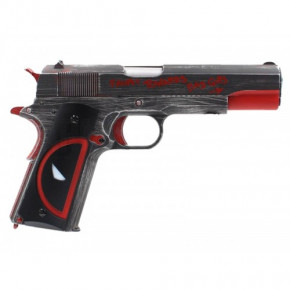 Armorer Works NE2201 Molon Labe 1911 Airsoft Pistol - Deadpool